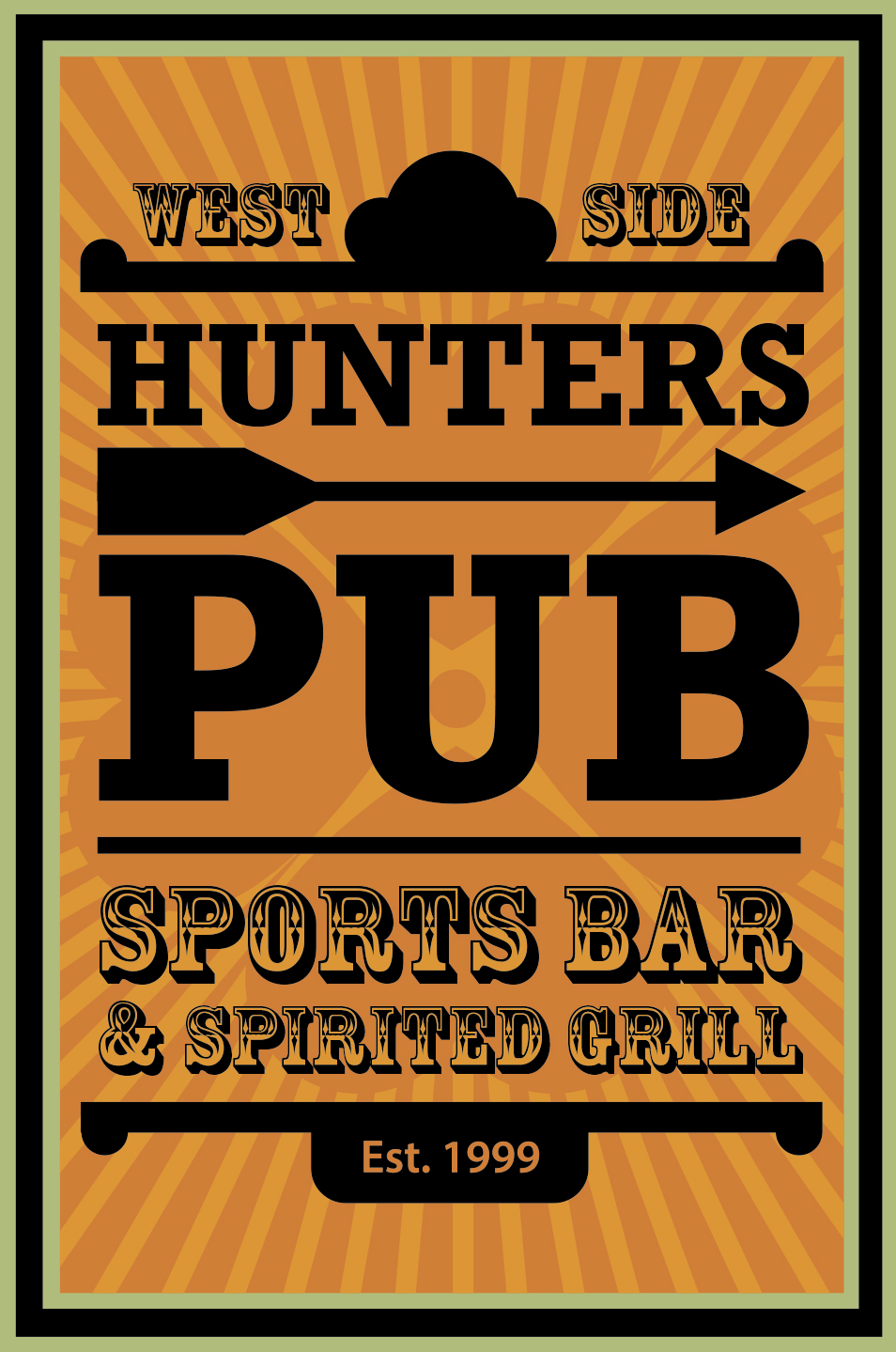 Hunter's Pub Banner